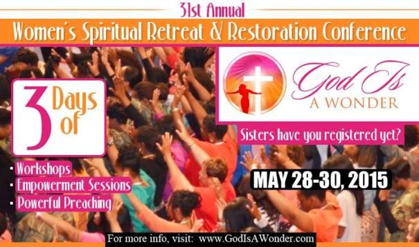 Women's Spiritual Retreat & Restoration Conference